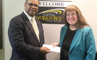 Capital Workforce Partners Receives Donation from The Berkshire Bank Foundation